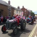 Tractors at Downham Parade