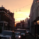 Bridge Street at Sunset