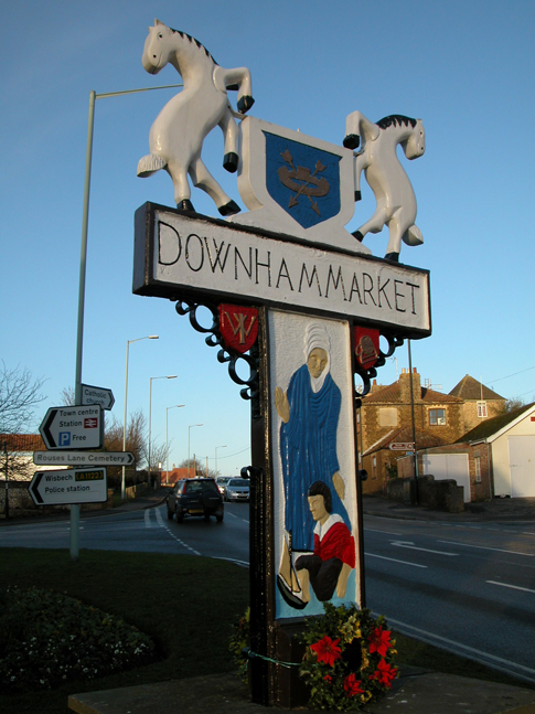 Downham Market Town Sign