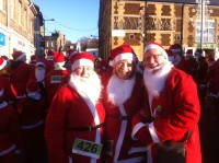 Downham Market Santa Fun Run