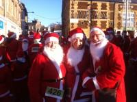 Downham Market Santa Fun Run