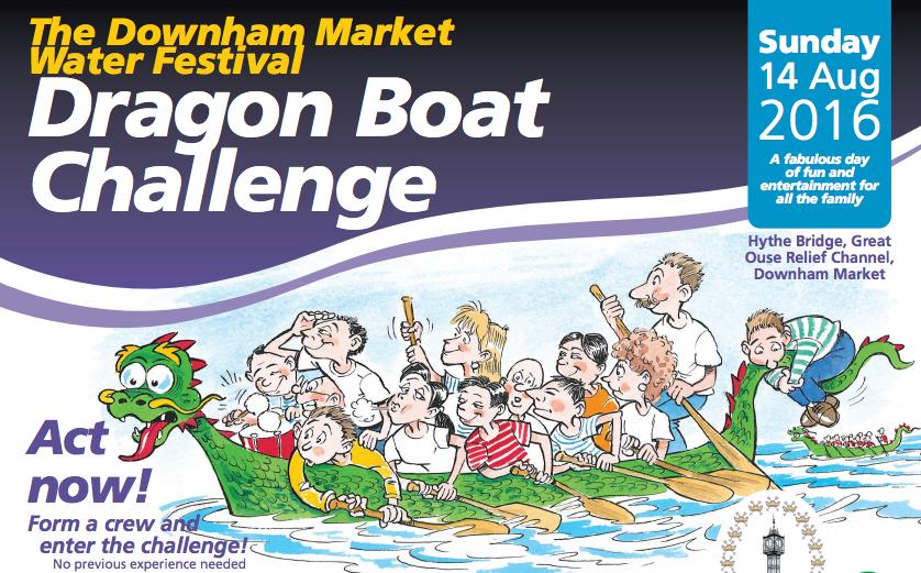 Downham Market Dragon Boat Challenge
