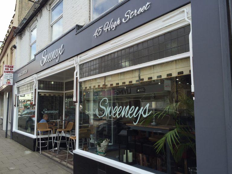 Sweeneys Restaurant, Downham Market